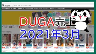 DUGA売上2021年3月